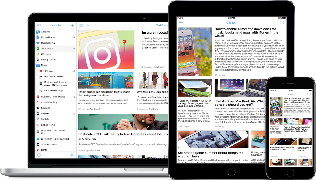 Newsify: RSS Reader App for iOS